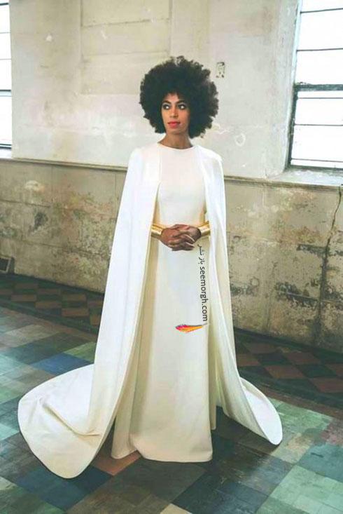 لباس عروس سولانگ نولز Solange Knowles,8 لباس عروس برتر ستارگان هالیوودی در دنیای مد