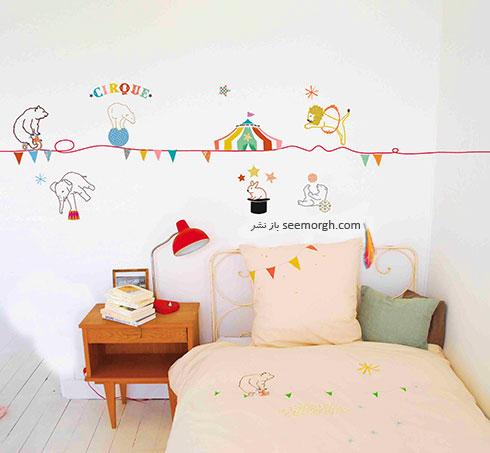 استیکرهای فانتزی برای اتاق کودک