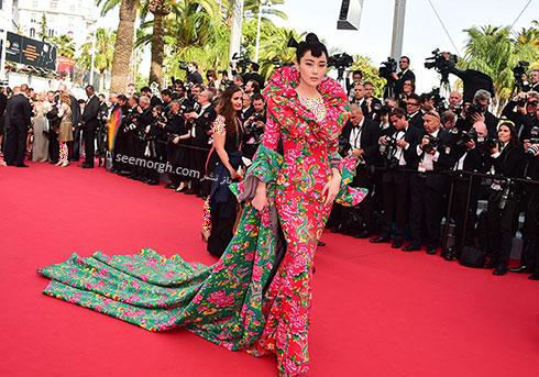 Viann Zhang بدترین لباس در جشنواره کن 2015