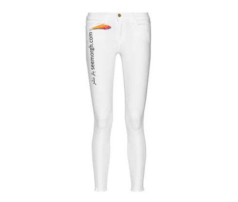 شلوار جین سفید جذب برای تابستان 2015