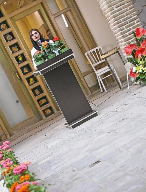 سخنرانی هنگامه قاضیانی در رونمایی از آلبوم علی زندوکیلی