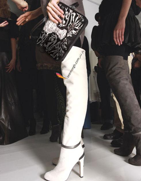 پوشیدن دامن کوتاه با چکمه های بلند و پاشنه دار,مدل های مختلف چکمه را با چه لباس هایی باید ست کنیم؟