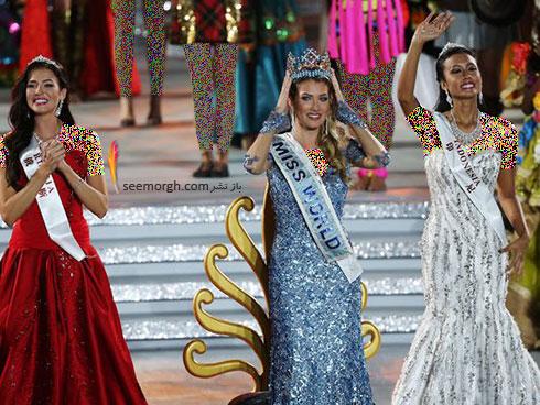 نفر دوم و سوم در مراسم Miss World 2015