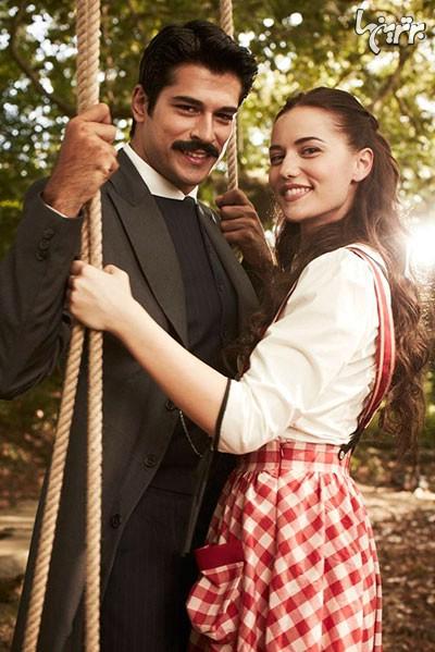 بوراك اوزچویت و همسرش