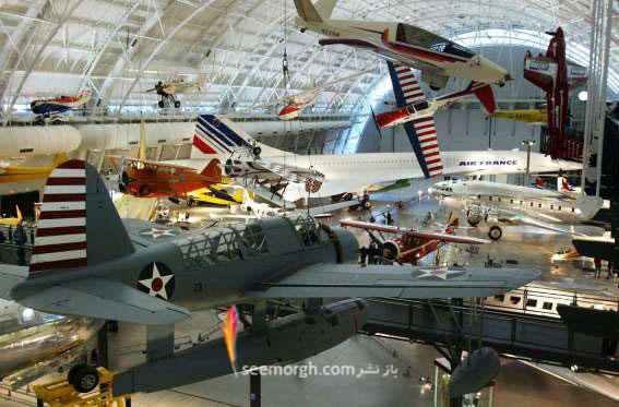 موزه هوا فضا Smithsonian - واشنگتن