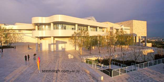 موزه مرکزی Getty - کالیفرنیا