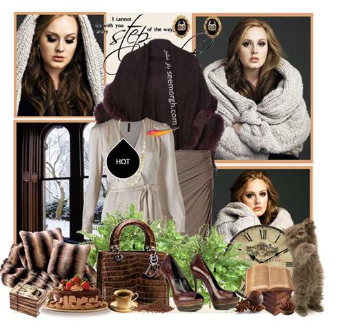 ست لباس پاییزی به سبک ادل Adele