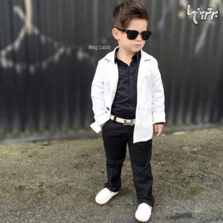 خوش تیپ ترین پسر در دنیای مد - عکس شماره 7