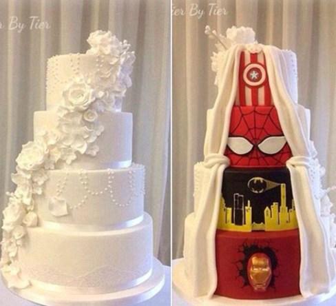 کیک عروسی ویژه
