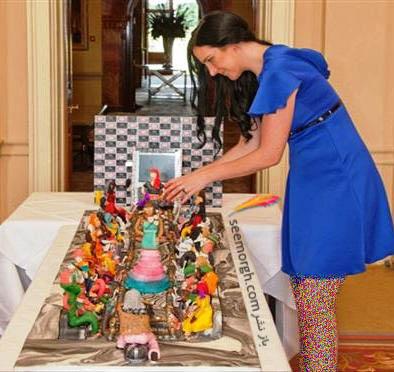 دبی طراحی گرانقیمت ترین کیک دنیا