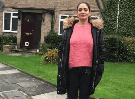 لورا آرنولد پس از فروش خانه