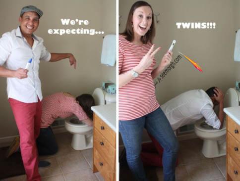 وقتی که دوقلو باردار باشید!