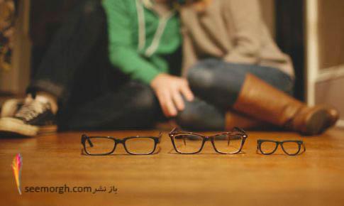 روش جالب پدر و مادر عینکی برای اعلام خبر بچه دار شدن