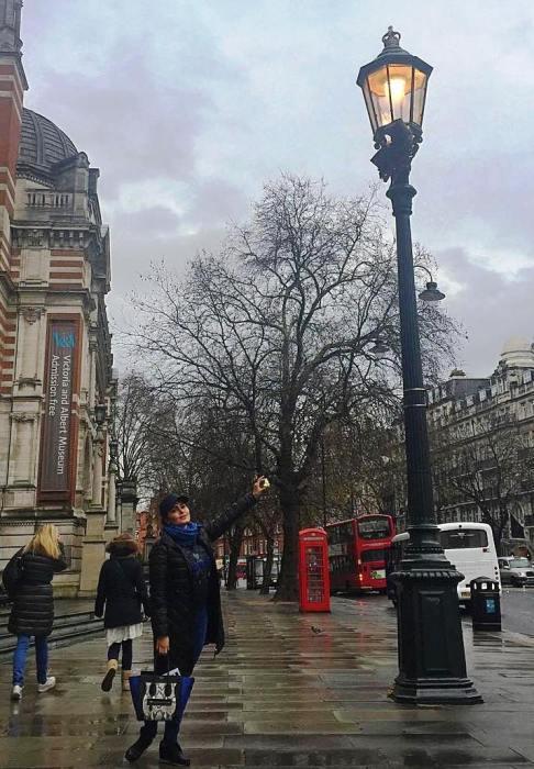 الناز شاکردوست در لندن