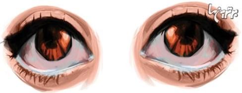 آرایش چشم برای كوچك كردن چشمهای درشت