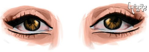آرایش چشم مخصوص چشمهای ریز
