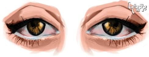 آرایش چشم مخصوص چشم هایی با پلكهای افتاده