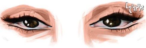 آرایش چشم مخصوص چشم های ریز آسیایی