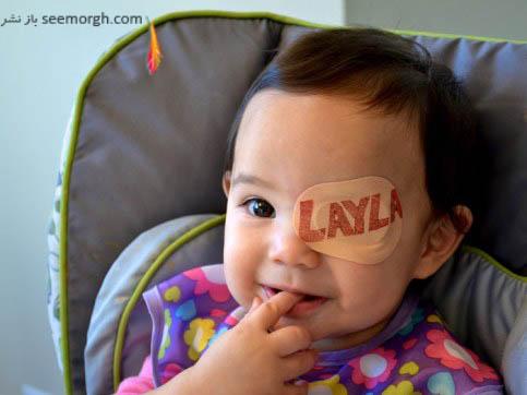 لیلا نام این دختر کوچولو می باشد
