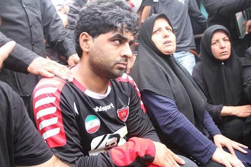 آخرین وداع دردناک خانواده هادی نوروزی