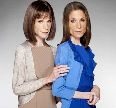 چهره دو خواهر در 33 سالگی