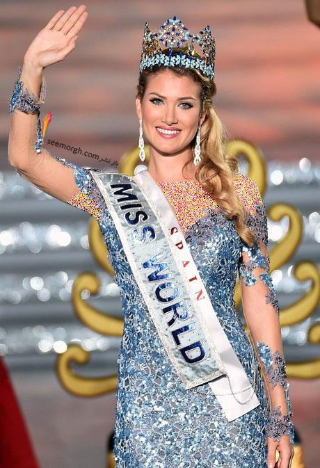 دختر شایسته 2015 در Miss World 2015 اهل اسپانیا