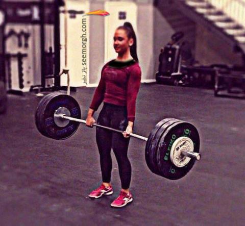 توانایی بدنی این دختر جوان