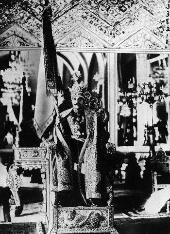 حکومت رضا شاه تا مرگ وی
