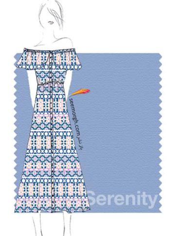 رنگ آبی روشن Serenity برای سال 2016 - عکس شماره 2