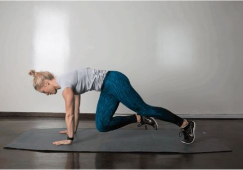 حرکت Cross Body Climber برای کوچک کردن شکم