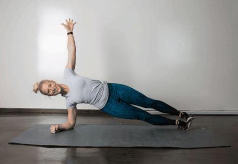 حرکت Rolling Plank برای کوچک کردن شکم
