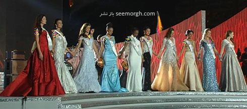 10 نفر برتر در Miss World 2015