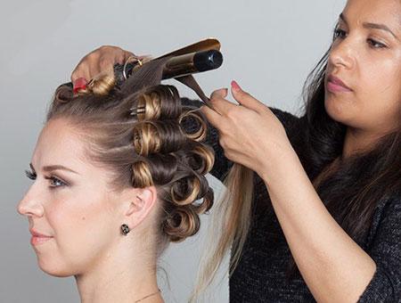 روش های خانگی برای فر کردن مو