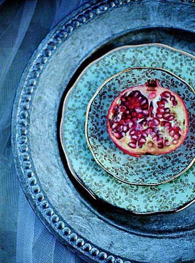 ظروف لعابی برای تزیین سفره شب یلدا