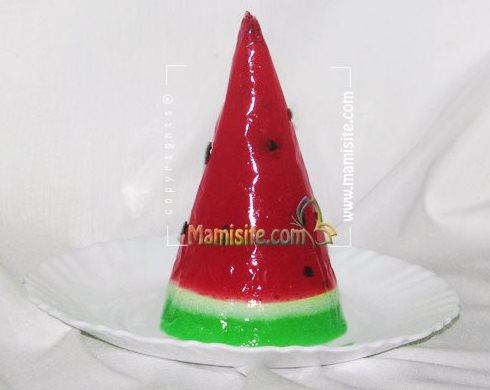 ژله هندوانه ای برای شب یلدا