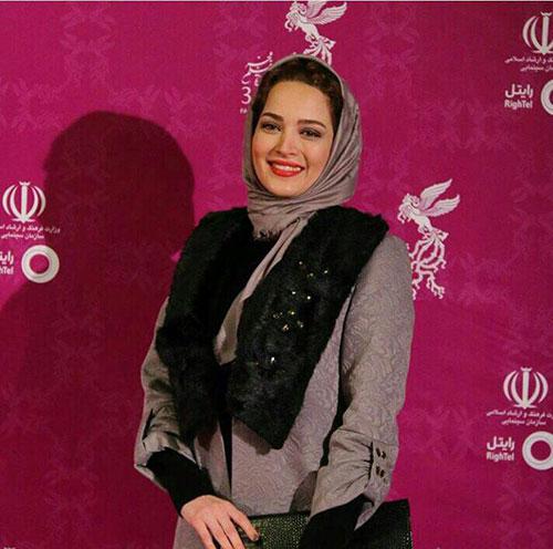بهنوش طباطبایی در افتتاحیه جشنواره فیلم فجر34