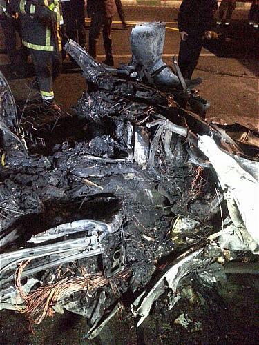 تصادف مرگبار BMW در بزرگراه نیایش