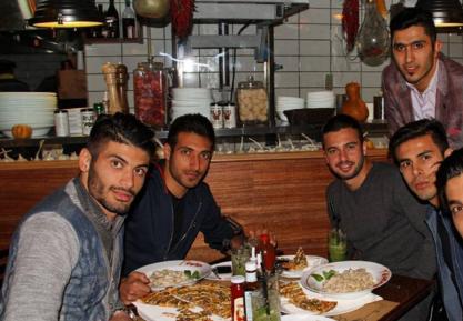 تصاویر افتتاح رستوران جدید قلعه نویی