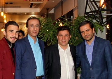میهمانان افتتاح رستوران جدید قلعه نویی