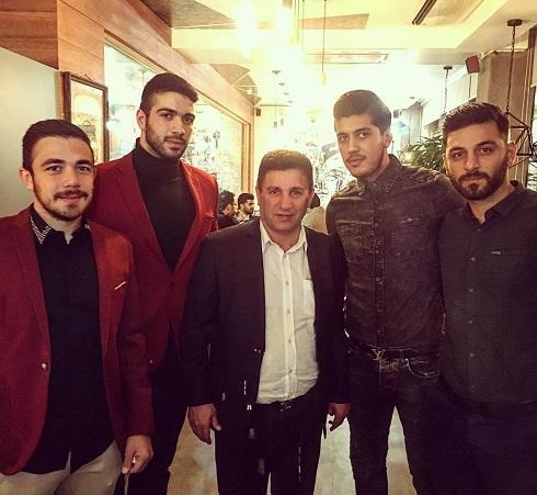 عکس میهمانان افتتاح رستوران جدید قلعه نویی