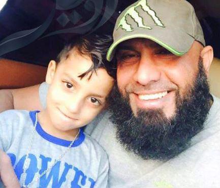 سلفی ابو عزرائیل و پسرش