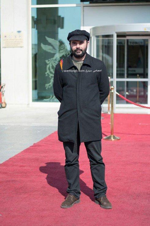 مدل لباس علی مصفا در دهمین روز سی و چهارمین جشنواره فیلم فجر