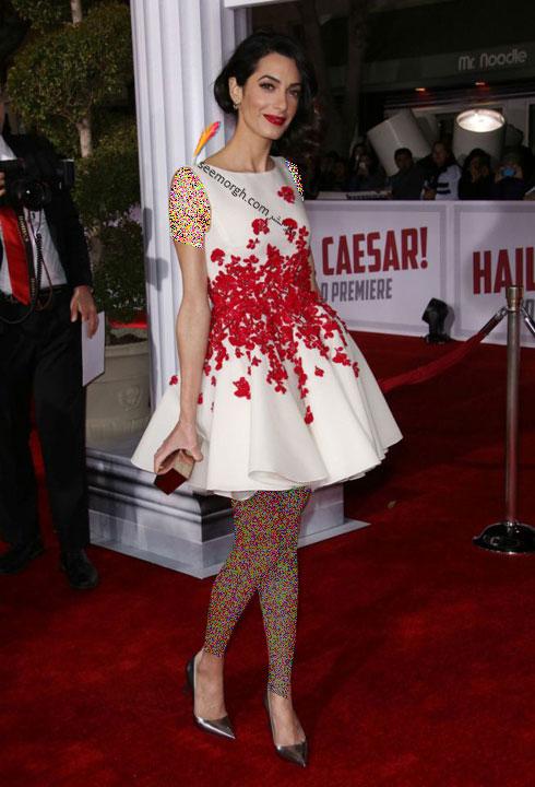 بهترین مدل لباس امل کلونی Amal clooney  - مدل لباس شماره 3
