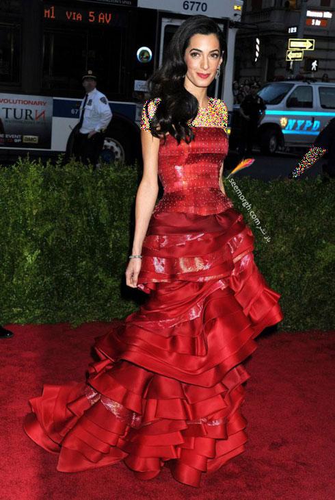 بهترین مدل لباس امل کلونی Amal clooney  - مدل لباس شماره 6