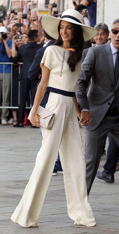 بهترین مدل لباس امل کلونی Amal clooney  - مدل لباس شماره 8