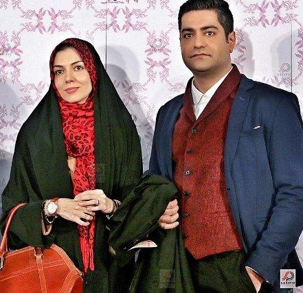عکس آزاده نامداری و سجاد عبادی در جشنواره فجر