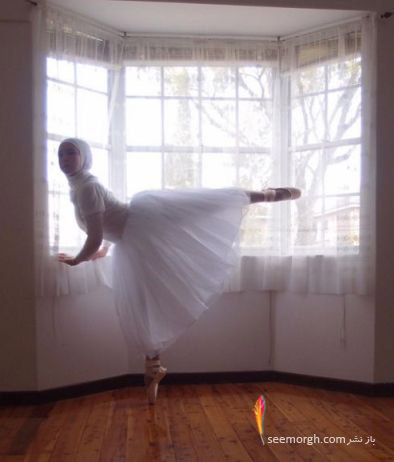 استفانی در لباس رقص باله