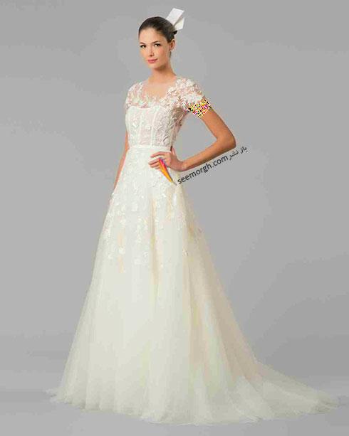 مدل لباس عروس به پیشنهاد کارولینا هررا Carolins Herrera - مدل شماره 1