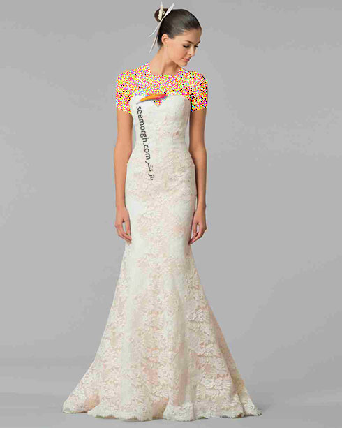 مدل لباس عروس به پیشنهاد کارولینا هررا Carolins Herrera - مدل شماره 2