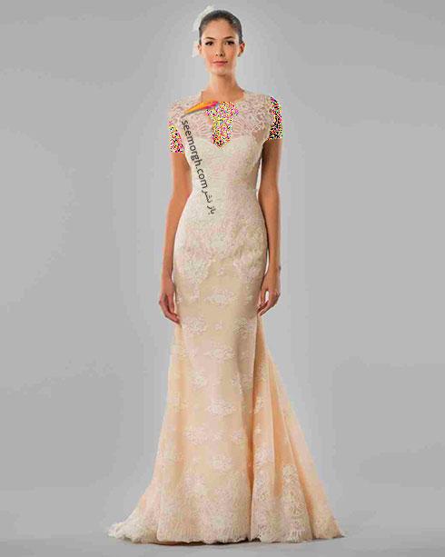مدل لباس عروس به پیشنهاد کارولینا هررا Carolins Herrera - مدل شماره 3